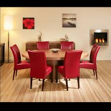 Beauteous  Dining Room Chairs Red Inspiration Design Of Best - Red dining room chairs