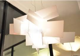modern white pendant light promotion 65cm modern l designe big bang bedroom light fixtures