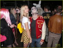 halloween party costumes colton haynes u0026 lucy hale don u0027t mess around when it comes to