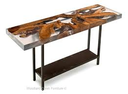 natural wood console table modern console table handcrafted from reclaimed teak filled with