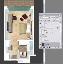 The Notebook House Floor Plan Design A 3d Floor Plan With Photoshop Photoshop Tutorials