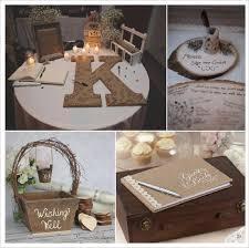 livre sur le mariage mariage rustique chêtre livre d or lettre en papier mache