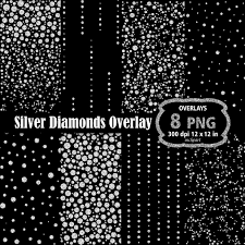 diamond clipart diamond overlay clipart silver diamond rhinestone overlay