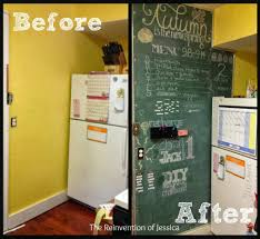 Kitchen Message Board Ideas Diy Magnetic Chalkboard The Reinvention Of Jessica Kitchen