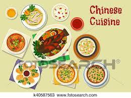 cuisine chinoise clipart cuisine chinoise icône pour dîner conception