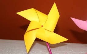 diy how to make paper windmill that spins easy project for
