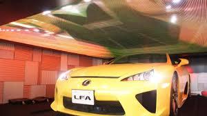 lexus lfa warranty lexus lfa roadster makes a surprise appearance in tokyo