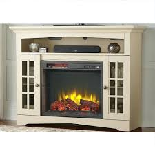tv stand electric fireplace walmart corner stone 58 wood with