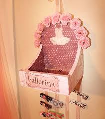 hair clip holder ballerina hair clip holder