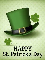 leprechaun hat st s day card birthday greeting cards