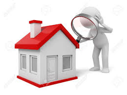 free house search 3d people with a magnifying glass and a house search new house