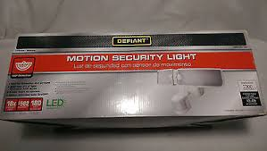Defiant Solar Motion Security Light Motion Security Light Defiant 180 Degree Outdoor Led Blade Df 5928