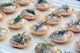 canape cups recipes recipe smoked salmon spread in pastry cases s a feast