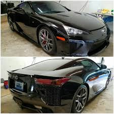 lexus lfa philippines owner before and after full vehicle vinyl wrap including door jambs