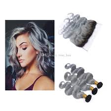 can ypu safely bodywave grey hair peruvian body wave grey hair weave 3 bundles with lace frontal