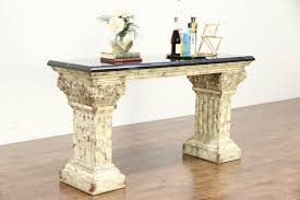Stone Console Table Sofa And Console Tables Harp Gallery Antique Furniture