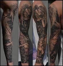 And Demons Sleeve Tattoos And Sleeve Vs Sleeve Healed