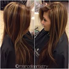 long brown hairstyles with parshall highlight hair color chocolate brown with golden highlights i don t think