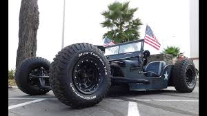 willys army jeep this 1945 willys jeep is an army themed rat rod built to beat