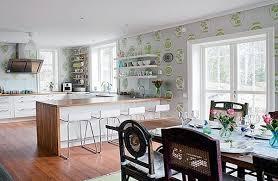fabulous kitchen wallpaper ideas
