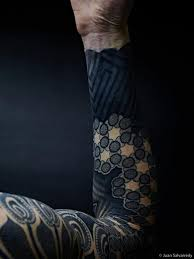 black ink sleeve tattoos photo 1 photo pictures and