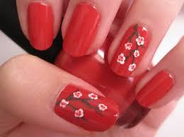 red nail polish short nails nail toenail designs art