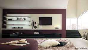 cool living room television home design planning modern with