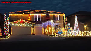 House Christmas Lights by Best Christmas Lights And Holiday Displays In Fresno Fresno County