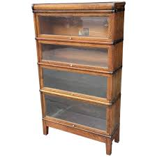 Globe Wernicke File Cabinet For Sale by Early 20th Century Oak Barrister Case By Globe Wernicke Co At 1stdibs