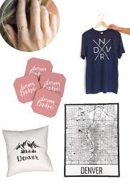 five adorable denver themed gifts everyday