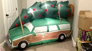 gemmy 2017 christmas vacation station wagon airblown inflatable