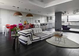 ganna design living room in eclectic boutique hotel style