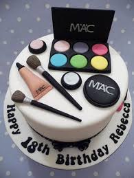 makeup cake toppers mac makeup cake 18th birthday for a who torty