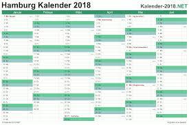 Kalender 2018 Hamburg Feiertage Kalender 2018 Hamburg