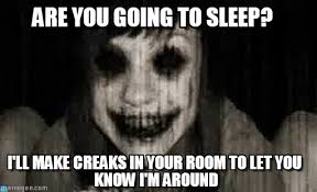 Ghost Meme - overly attached ghost are you going to sleep on memegen