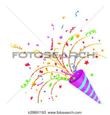 new years party blowers new year clipart party blower pencil and in color new year