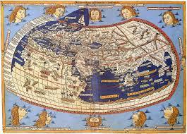 Azimuthal Map Map Projection Wikipedia
