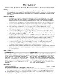 Business Systems Analyst Resume Examples by Quality Assurance Analyst Resumes Contegri Com
