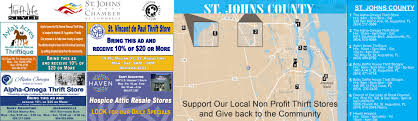 Jacksonville Map Fab Finds U2022 A Publication For Non Profit Thrift Stores