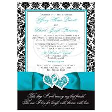 damask wedding invitations wedding invitation photo optional black and white damask