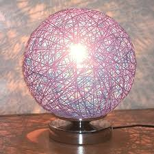 Rattan Table Lamp Kiven Spherical Table Lamp With Rattan Desk Lamps Bedside Living