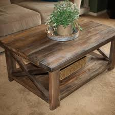 furniture rustic coffee table for all types of rooms in the house