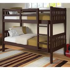 Bunk Bed Options Donco Bunk Bed Cappuccino Hayneedle