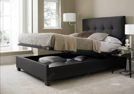 Divan Ottoman Beds by The Kaydian Walkworth Slate Fabric Ottoman Storage Bed Is A Brand