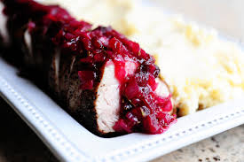 pork loin with cranberry sauce the pioneer