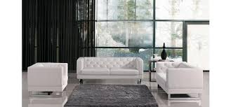 modern tufted leather sofa vig divani casa windsor modern tufted eco leather sofa set