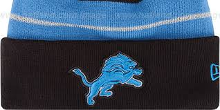 lions thanksgiving day knit beanie hat by new era at hatland