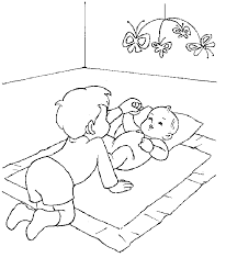 baby coloring pictures coloring