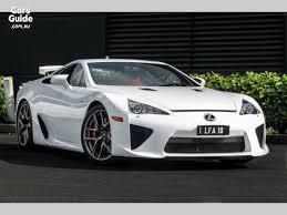 lexus lfa 10 2011 lexus lfa for sale 1 075 000 automatic coupe carsguide