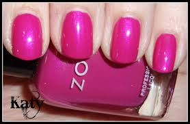obsessive cosmetic hoarders unite manicure of the day zoya katy